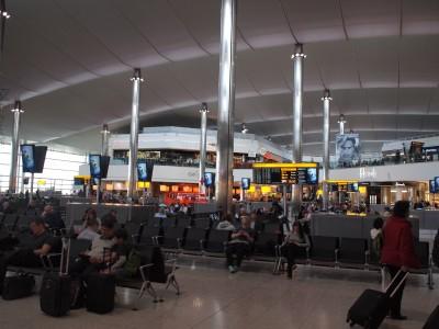 ロンドンヒースロー空港1